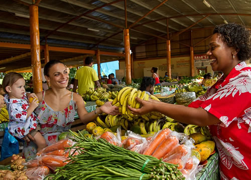 Farmers market in Nadi