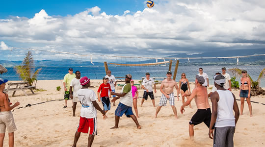Beach Volleyball | Whales Tale Cruise